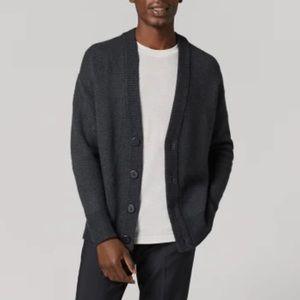 Men's Jcrew Cashmere blend button up Cardigan L